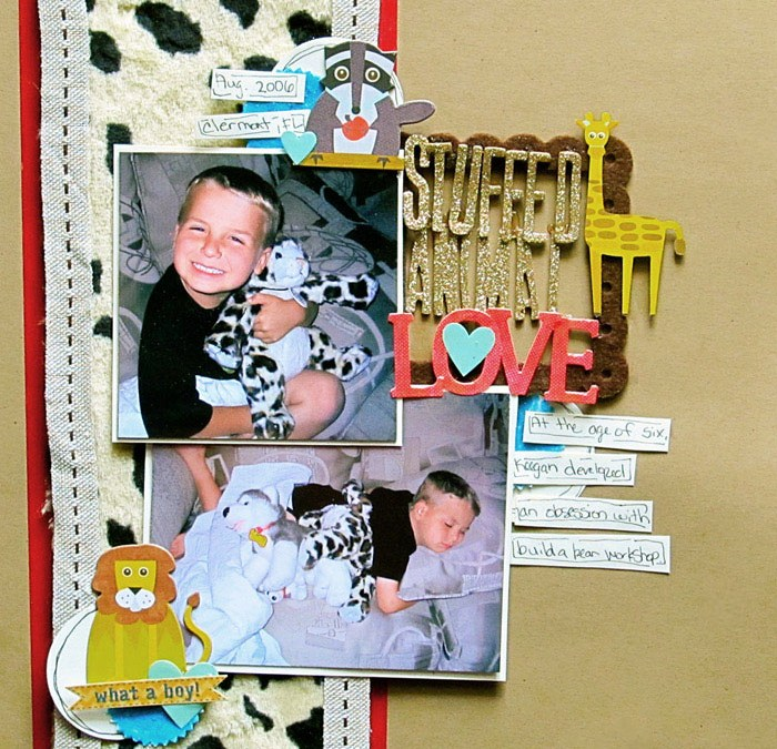 The Simple Mistake I Made While Scrapbooking with Faux Fur- Get It Scrapped