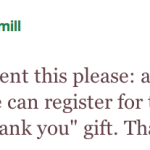 MyShingle's Referral/Thank You Gift Survey, MT/HT @LeannaHamill