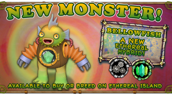 New bellowfish monster