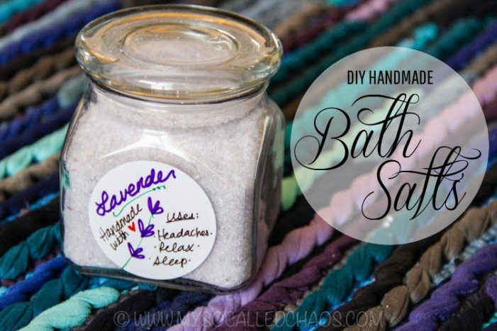 DIY Handmade Bath Salts