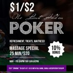 Poker Games: 1/2 NLH, 2/5 NLH, 5/10 NLH, And/Or PLO!