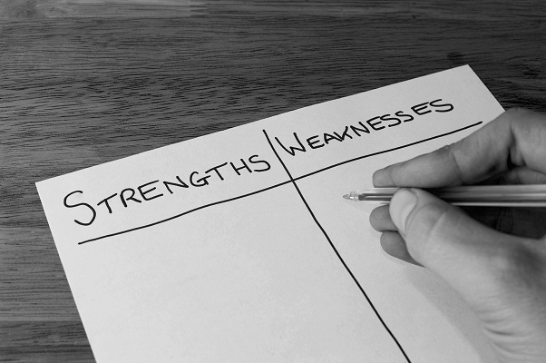 for effective delegation use strengths and weaknesses