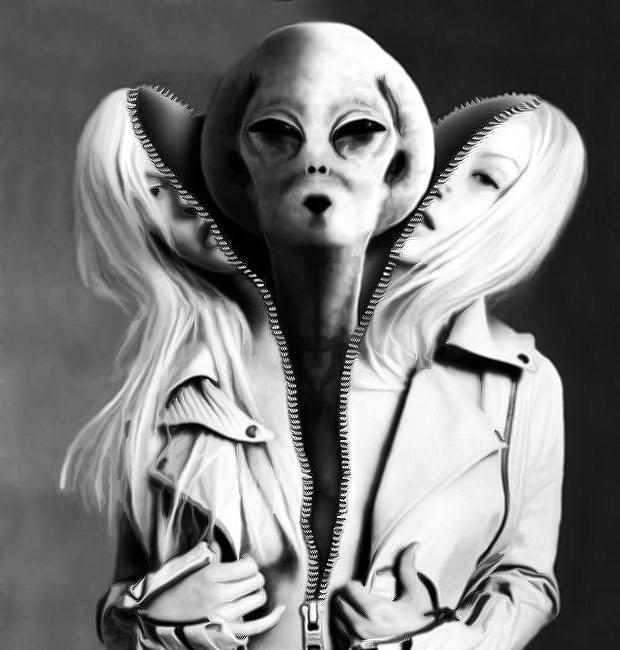 grey-woman