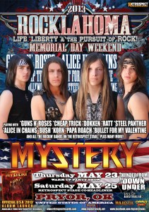ROCKLAHOMA POSTER SMALL