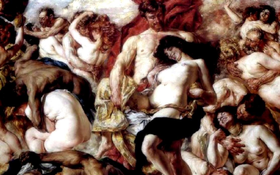 saturnalia orgy