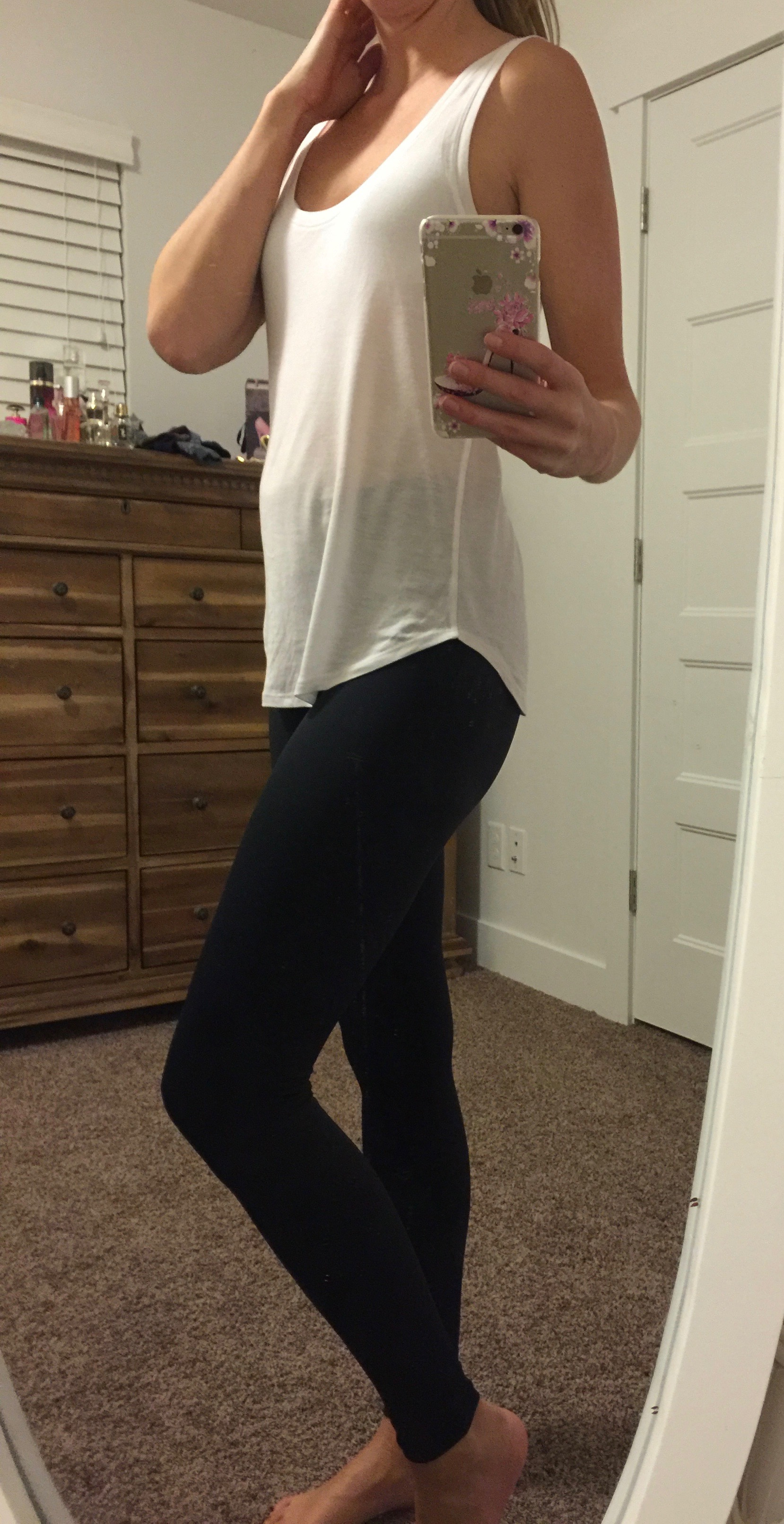 Putting On Yoga Pants - Pant Row