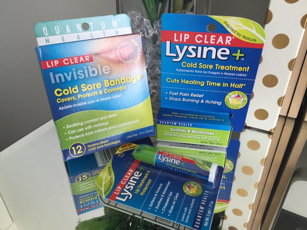 Win lip clear lysine cold sore treatment