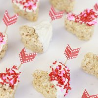 Cupid's Rice Krispie Treats