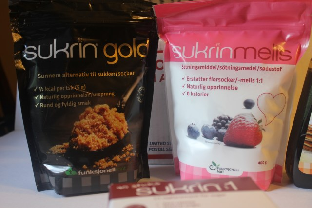 Sukrin Gold Granular Sweetener and Sukrin Powdered Sweetner product review.