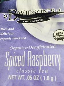 Spiced Raspberry by Davidson Tea