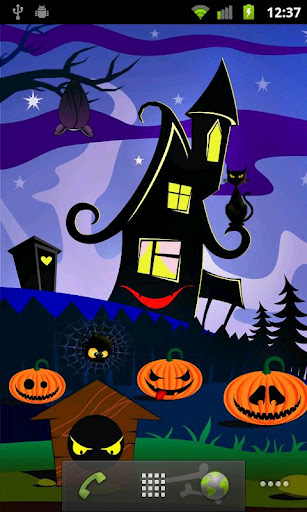 Free Halloween Live Wallpapers for Android