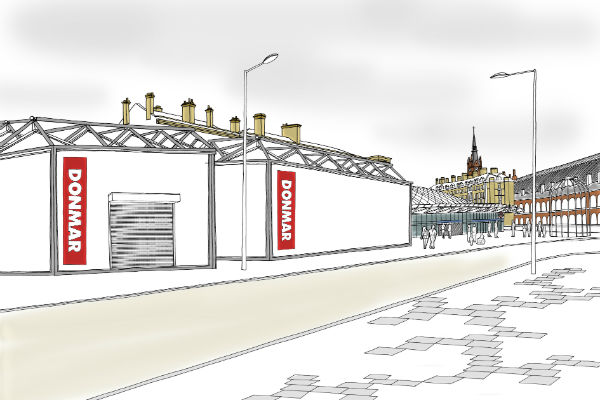Artists impression of Donmar King's Cross_600x400