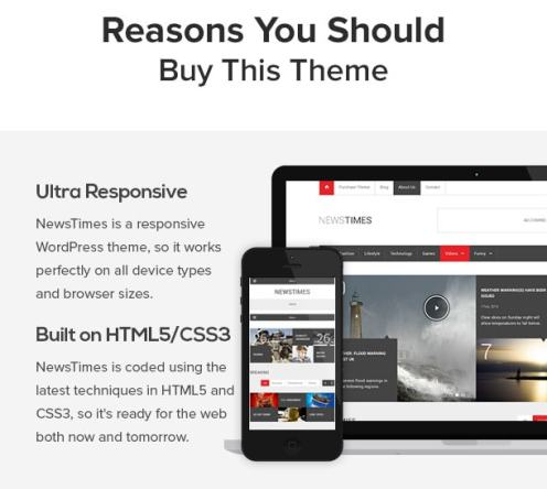 Wordpress Themes NewsTimes