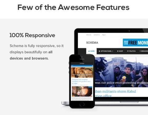 Wordpress Themes Schema