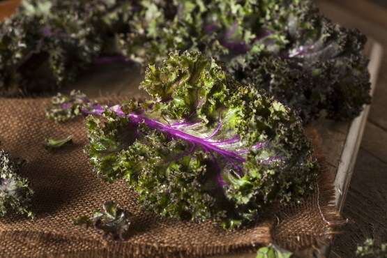 Kale is a good source of magnesium.