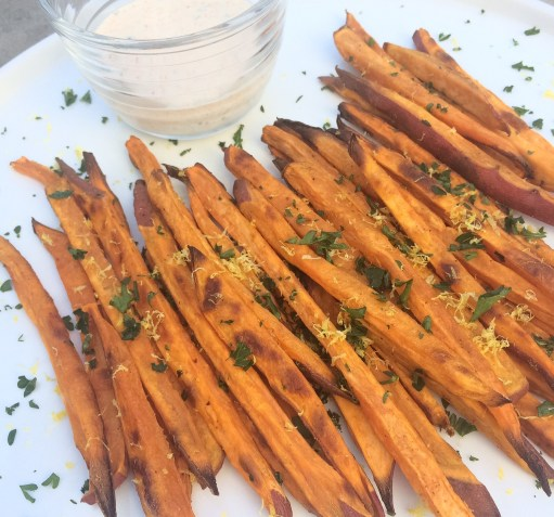 Paleo and whole30 sweet potato fries recipe