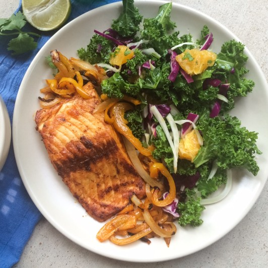 Paleo Southwest Salmon Recipe