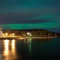 Norrsken över Sollefteå