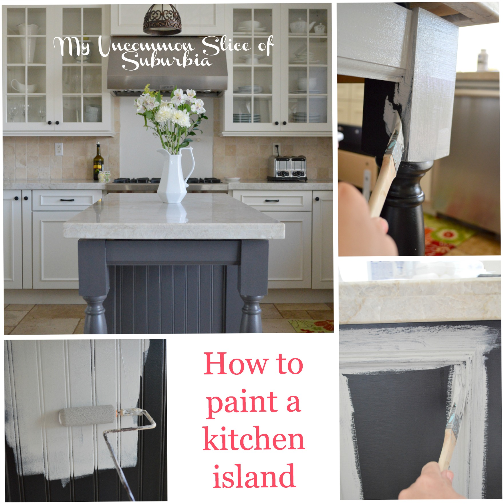 Exciting How To Paint A Kitchen Island Blue Kitchen Island Paint Color Kitchen Island Paint Colours kitchen Kitchen Island Paint