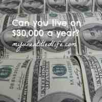 How to budget living on $30,000 a year!