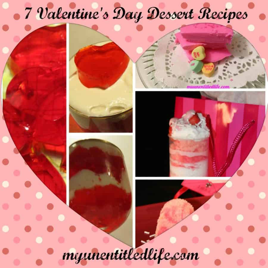 7 Valentine's Day Recipes for you to make ahead and enjoy!