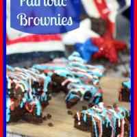 July 4th Brownies or Patriotic Brownies #recipe