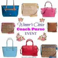 Coach Purse giveaway 5/15 US