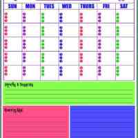 Monthly  and Weekly Menu Planner which is a Free Printable for you!