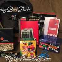 Give Backpacks and give back #GivingBackPacks