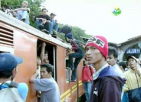 Kereta di Jakarta