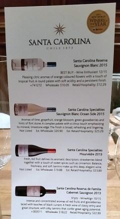 Santa Carolina New World Winery of the Year