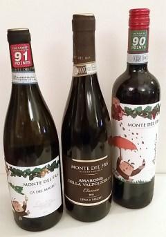 Monte del Fra Ca Del Magro Bardolino and Amarone della Valpolicella Classico