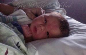 My Grandson was born