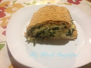 Chicken and Spinach Roll