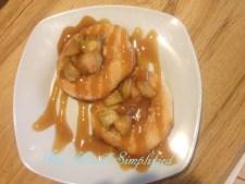 Mini Caramel Apple Pies in 20 Minutes