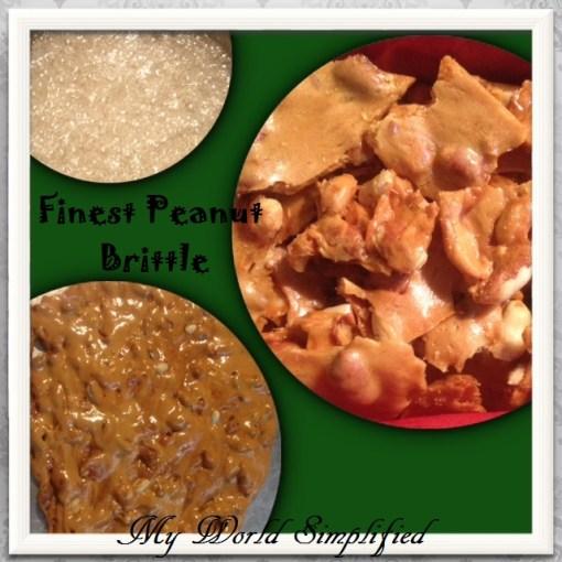 Finest Peanut Brittle