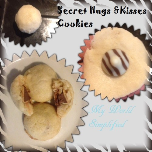 Secret Hugs and Kisses Cookies