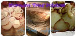 "Microwave ""Fried"" Potatoes"