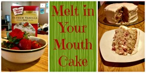 Melt in your Mouth Moist FRESH Strawberry Cake
