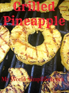 EASY Grilled Pineapple recipe
