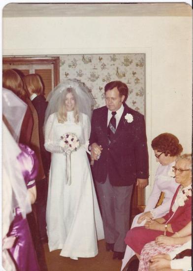 Grandpa and my mom