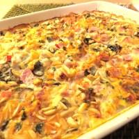 'A Little Help from My Friends' Ham, Chicken and Potato Bake