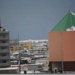 我が家から「札幌市の雪たい積場」ウオッチング