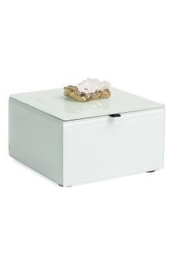 Small Of White Jewelry Box