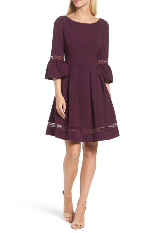 Medium Of Purple Cocktail Dresses