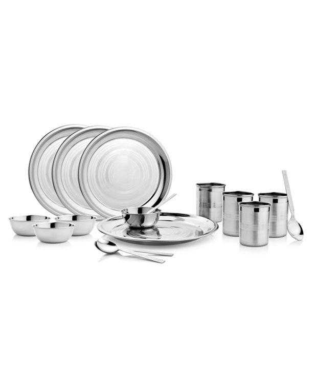 Mosaic Elegant Stainless Steel 16 Pcs Dinner Set