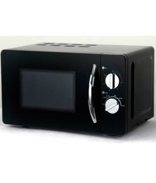 Haier 20 Litres Hil2001mbph Solo Microwave Oven Black