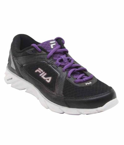 Fila Black Lifestyle Sports Shoes Price in India- Buy Fila ...