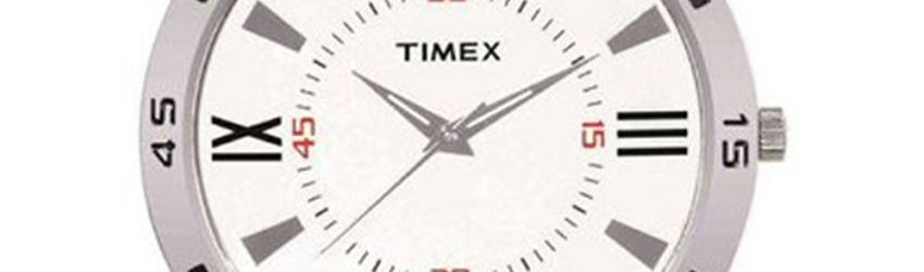 Timex Brown Leather Analog Watch