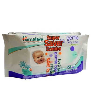 Himalaya Baby Wipes 72